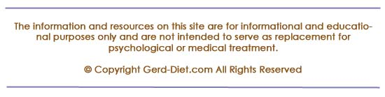 Disclaimer for gerd-diet.com