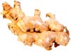 GERD diet: Big piece of ginger root