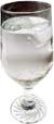 GERD diet: glass of water.